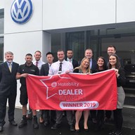VW Scotswood Road Motability Award